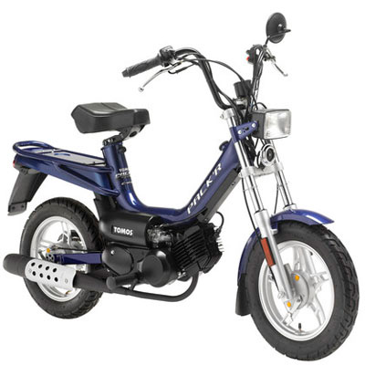 Tomos Pack'R e-start
